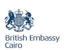 British Embassy Cairo
